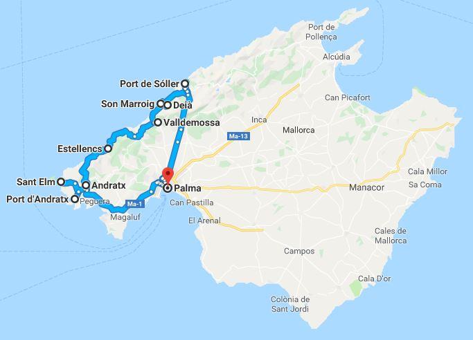Unwetter Mallorca Karte.Mallorca Attraktionen Sehenswurdigkeiten Autovermietung