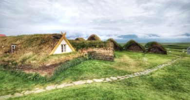 Glaumbaer – domy torfowe na Islandii