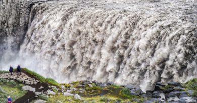 Dettifoss – największy wodospad Europy: dojazd, parking, zwiedzanie, ciekawostki